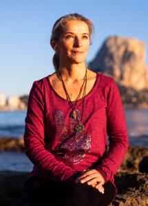Simone Riecke am Meer
