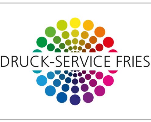 Das Logo von Druck-Service Fries